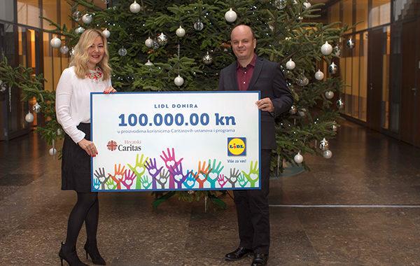 Lidl Hrvatska donacija od 100.000 kuna