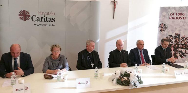 Svečano obilježen srebrni jubilej Hrvatskog Caritasa